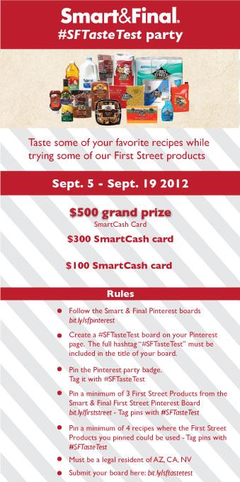 Smart & Final Pinterest Party