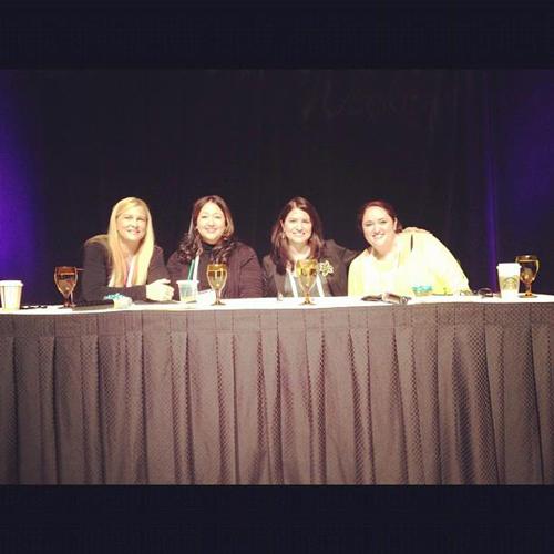Barbara Jones, Stefania Pomponi Butler, Angela Sustaita-Ruiz, and Amanda (AJ) Feuerman