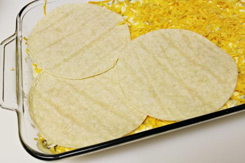 Creamy Chicken Enchiladas by HomeCookingMemories.com