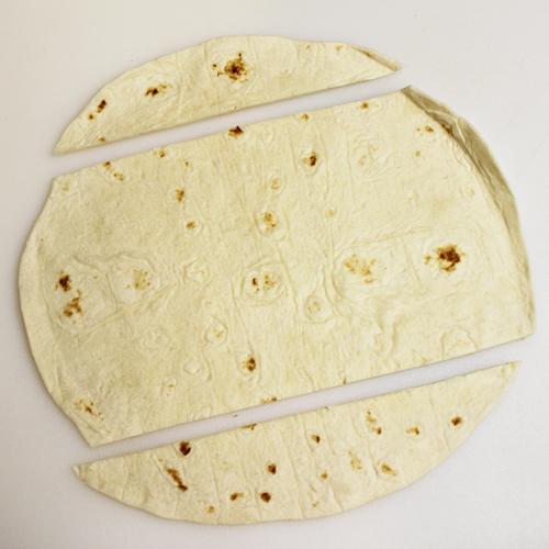 Eyeball Pinwheels: trim flour tortillas