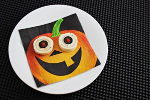 Easy Halloween Party Foods: Eyeball Pinwheels Recipe