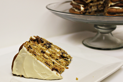 Giant Chocolate Chip Cookie Cake