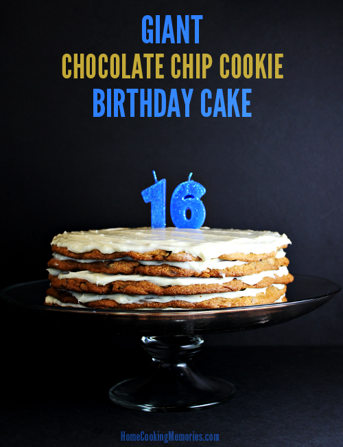 Martha Stewart Giant Chocolate Chip Cookie Cake