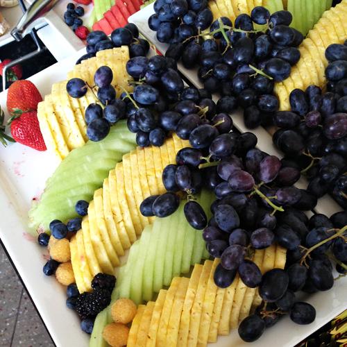 Fruit at Shop Your Way Afternoon Tea at Blogalicious