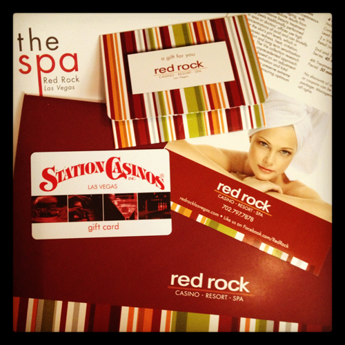 Gift Card to The Spa at Red Rock, Las Vegas