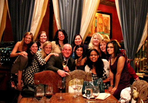 Wine anchors great memories at the Mirassou Wine Dinner with Bloggy Boot Camp Bloggers