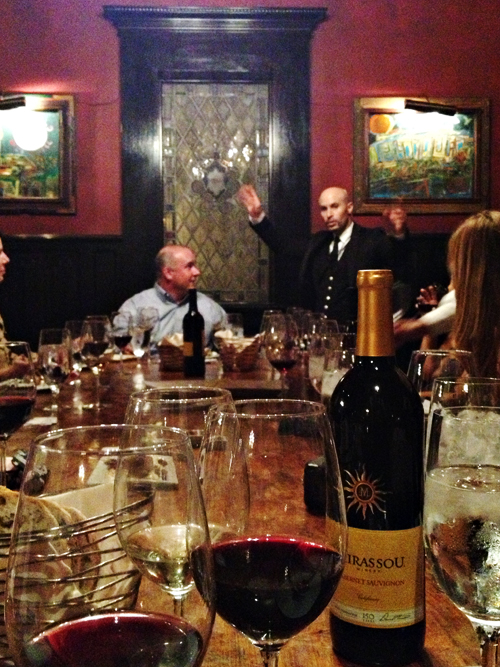 Magician Seth Grabel at Mirassou Wine Tasting & Dinner