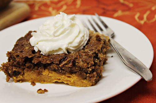 Pumpkin Dump Cake for Thanksgiving