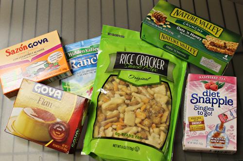September Foodie Penpals package