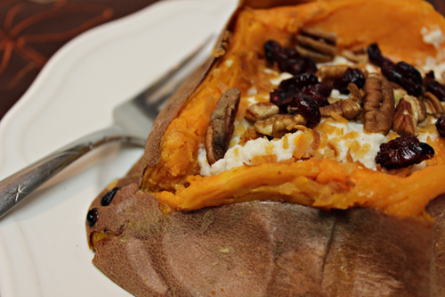 DIY Baked Sweet Potato Bar