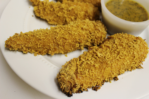 Sweet and Crunchy Chicken Tenders