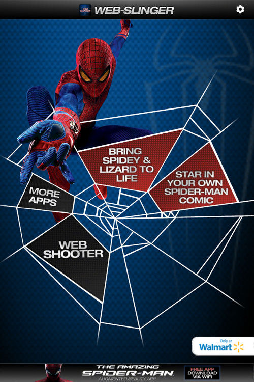 Amazing Spider-Man Family Fun Night - Web Slinger App