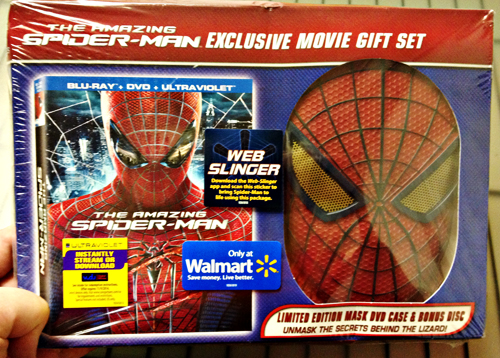 Amazing Spider-Man Blu-ray & DVD