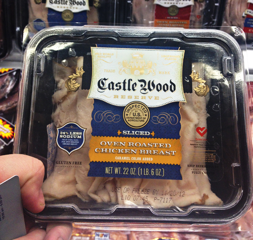 Castle Wood Chicken Lunch Meat for Oven Baked Chicken Cheesesteak Sandwiches
