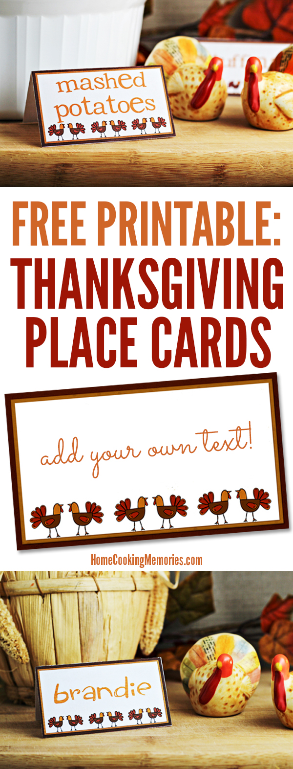 Monster image throughout free printable thanksgiving place cards