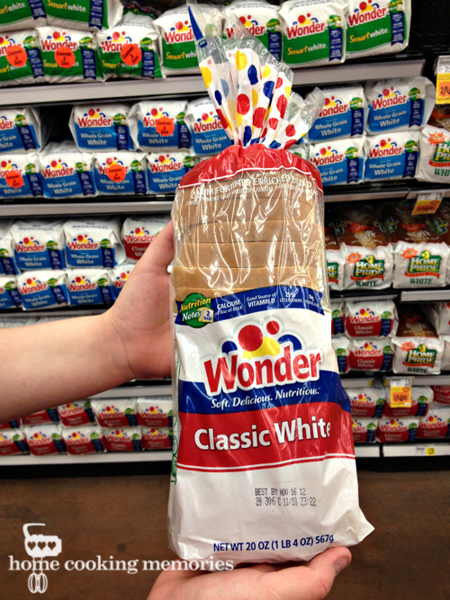 Food Memories of Hostess: Wonder Bread