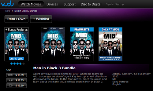 Men in Black 3 on VUDU #SEEMIB3
