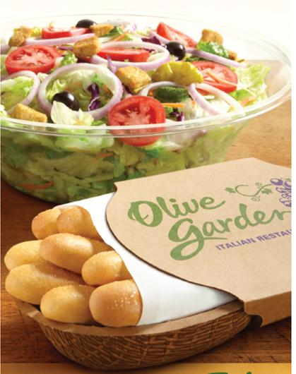 Olive Garden Weeknight Family Style Meals To Go Las Vegas