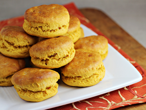 Sweet Potato Biscuits - Thanksgiving Leftover Idea for #SundaySupper