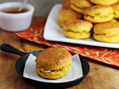 Thanksgiving Leftovers Ideas: Sweet Potato Biscuits