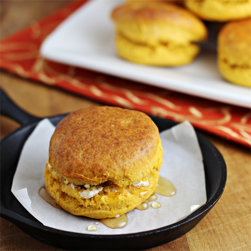 Thanksgiving Leftover Recipes: Sweet Potato Biscuits Recipe