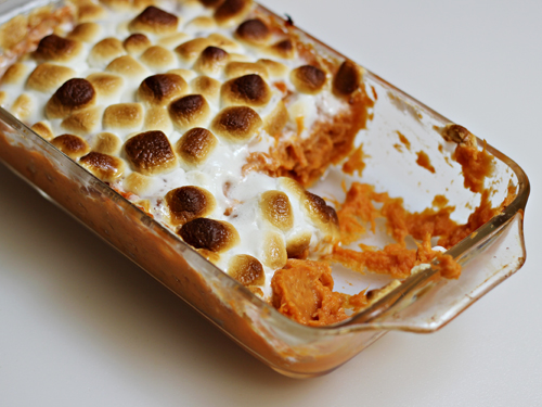 Thanksgiving Leftovers: Sweet Potato Casserole