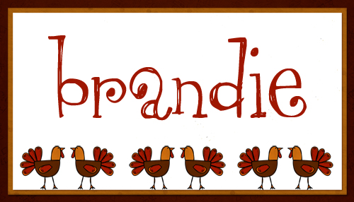 Thanksgiving Name Cards