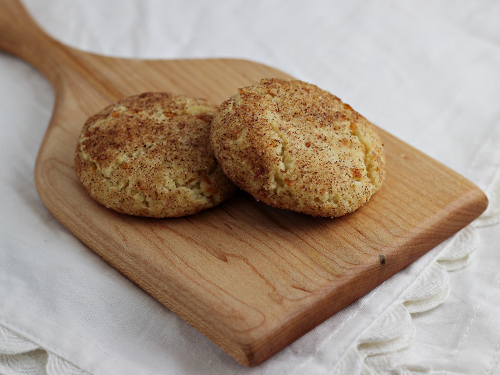 Coconut Snickerdoodles