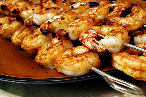 Grilled Spicy Shrimp
