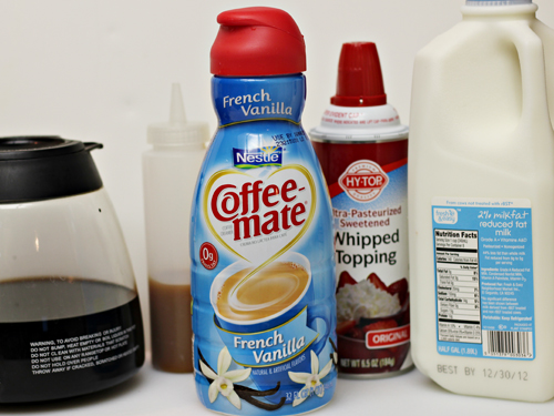 Make Your Own Caramel Vanilla Latte