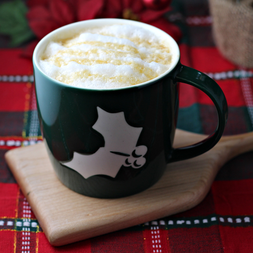 How to Make a Caramel Vanilla Latte (recipe)