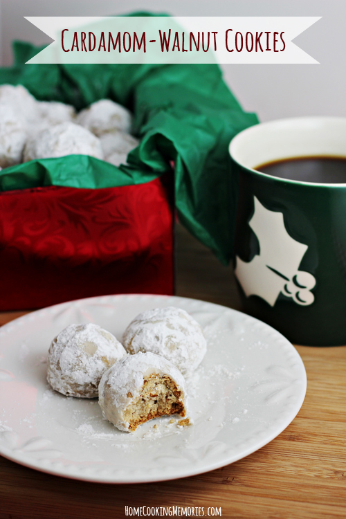 Cardamom Walnut Cookies & 100 of the best cookie recipes for Christmas | PasstheSushi.com