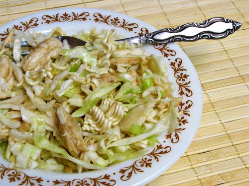Crunchy Chicken Ramen Salad