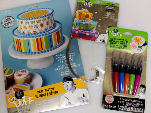 Duff Cake Decorating Giveaway