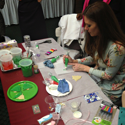 Mixed Conference - cookie decorating with Sweetopia