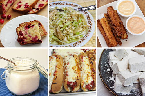 Top 10 Pinterest Pins for Home Cooking Memories 2012