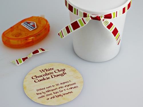 Homemade Food Gifts: Cookie Dough