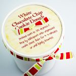White Chocolate Chip Cookie Dough Gift Idea with Free Printable