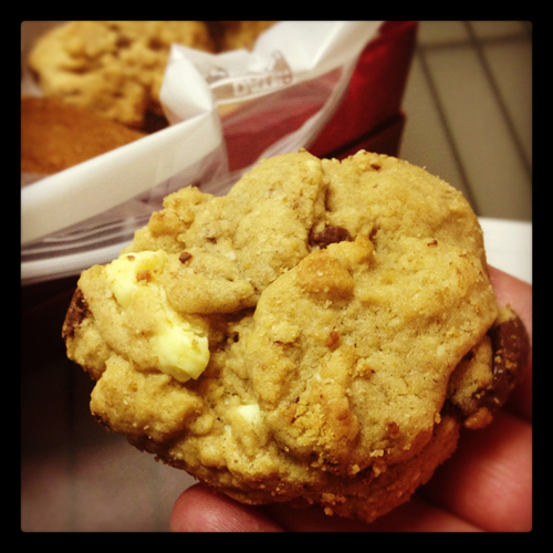 White and Dark Chocolate Chip Cookies from New South Food Company