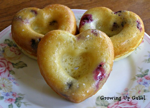 Growing Up Gabel - Blueberry Donuts