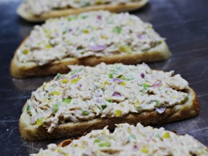 Grown-Up Tuna Melts