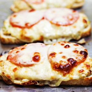 Grown-Up Tuna Melts Recipe