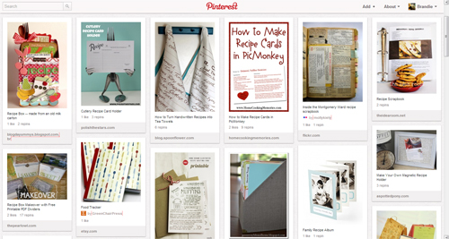 Recipe Keeping & Recipe Cards on Pinterest