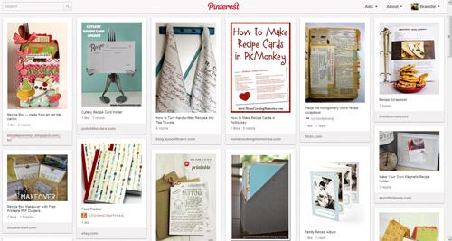 Recipe Keeping & Recipe Cards on Pinterest