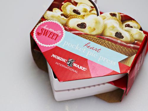 Nordic Ware Heart Pocket Pie Press