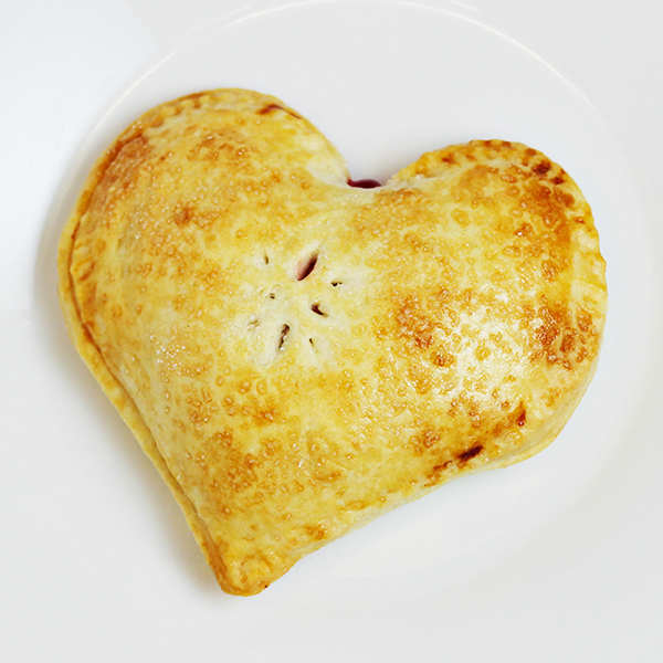 Easy Heart Pocket Pies