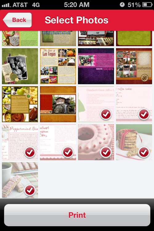 Framed Recipe Cards - Walgreens Photo App