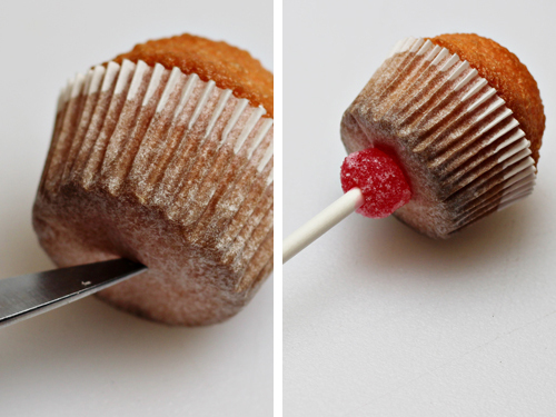 Mini Cupcakes on a Stick