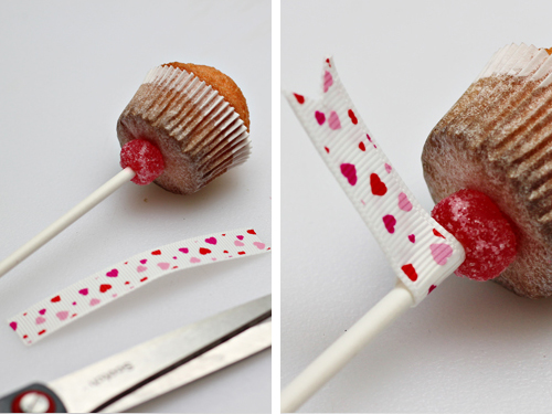 Mini Cupcakes on a Stick