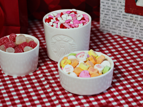 Stabucks Ceramic Stacking Bowls for Candy